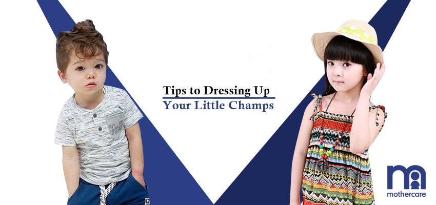Tips to dressing up your little champs